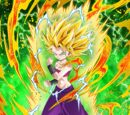 Brilliant Battle Intuition Super Saiyan 2 Caulifla