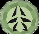 Talismã verde