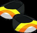 La Paire de Chaussures Bonbon