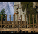 Kaer Morhen training equipment