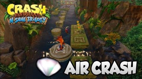 """Crash Bandicoot 2 - """"Air Crash"""" 2nd Gem (PS4 N Sane Trilogy)"""