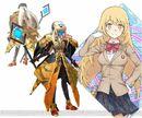 Shokuhou Misaki & Angelan (Virtual-On game).jpg