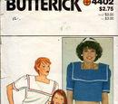 Butterick 4402 C