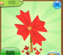 Maple Leaf Pinwheel