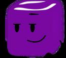 Purple Ice Cube