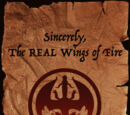 Sincerely, The REAL Wings of Fire