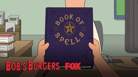 Tina Is Given A Book Of Spells Season 7 Ep. 3 BOB'S BURGERS