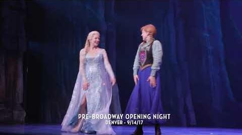 FROZEN Pre-Broadway Opening Night - Denver 9.14.2017