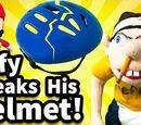 Jeffy Breaks His Helmet!