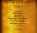Grades de l'Alliance (objet)