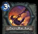 Fiery War Axe