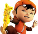 Karakter BoBoiBoy: The Movie