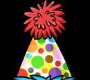 Mini Polka Dot Puffle Hat