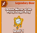 Ornate Mirror of the Flying Jungle King