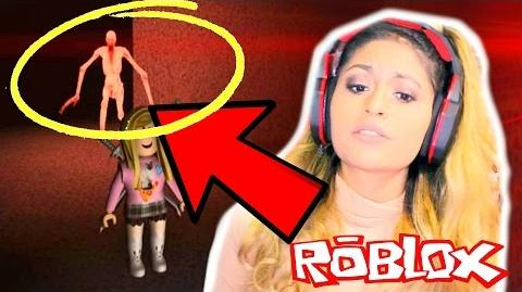 THIS GAME TRAPPED ME WITH A SCARY THING!! - Roblox Roleplay