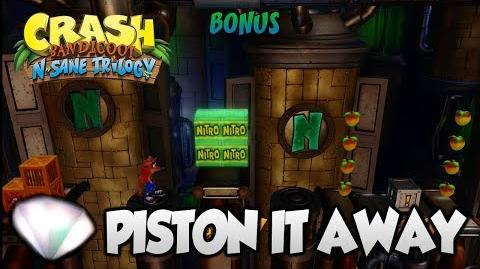 "Crash Bandicoot 2 - ""Piston It Away"" 100% BOTH Clear Gems and All Boxes (PS4 N Sane Trilogy)"