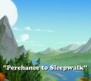 Perchance to Sleepwalk