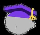 Purple Graduation Hat