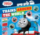 Trains Around the World Sticker Activity Book