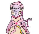 Różowa Aura Kwarc