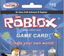 ROBLOX Card