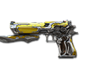 Desert Eagle-El Dorado Noble Gold