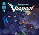 Voltron: Legendary Defender Comics