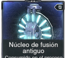 Núcleo de fusión antiguo