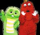 Ponkickies Characters