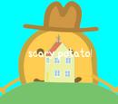 Scary potato!