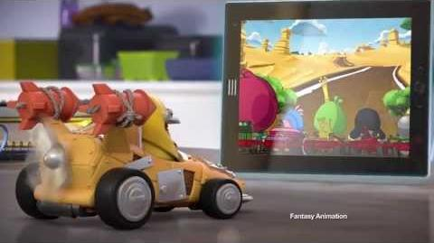 Angry Birds Go! Telepods commercial featuring Chuck