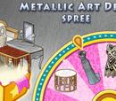 Metallic Art Deco Spree Spinner