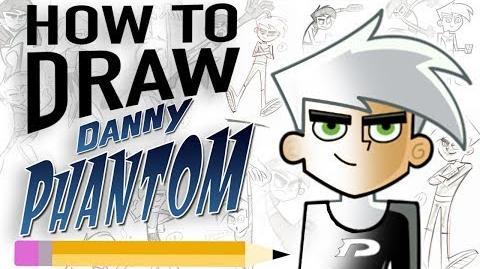 How to draw DANNY PHANTOM with creator Butch Hartman