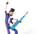 Sonic Keytar