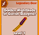 Golden Nightblade of Garish Slaughter