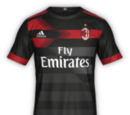 Camiseta Tercera Milán FIFA 18