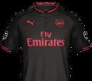Camiseta Tercera Arsenal FIFA 18