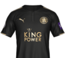 Camiseta Suplente Leicester City FIFA 18