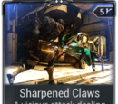 Sharpened Claws