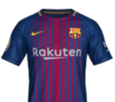Camiseta Local Barcelona FIFA 18