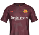 Camiseta Tercera Barcelona FIFA 18