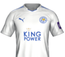 Camiseta Tercera Leicester City FIFA 18