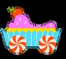 Purple Cupcake Kart