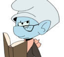 Librarian Smurf (FC Universe)