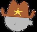 Western Sheriff Hat