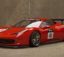 Ferrari 458 Italia Gr.4