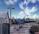 Knapford Bus Yard