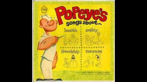 Jack Mercer & Mae Questel (as Popeye & Olive Oyl) - Never Play With Matches