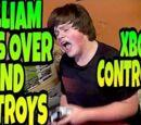 WILLIAM RUNS OVER AND DESTROYS XBOX CONTROLLER!!!