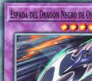 Espada del Dragón Negro de Ojos Rojos